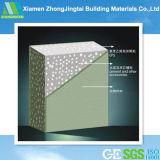 Tipo material do painel de parede do sanduíche do EPS do painel do metalóide com a força laboral da economia