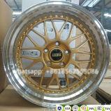 O BBS de alumínio da réplica do carro da liga de R18/R19 Lm roda bordas