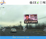Synchrone im Freienled-Video-Wand