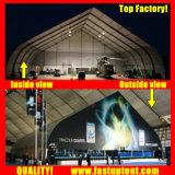 Кривая палатку с бегущей строкой в спортивном зале размера 25x50m 25 м x 50 м 25 50 50X25 50 м x 25 м