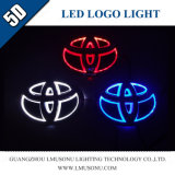 lumière de logo de 5D DEL pour le logo automatique de véhicule de logo de Toyota DEL