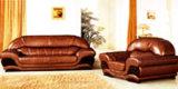 Canapé en cuir (862#)