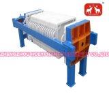 Tipo máquina hidráulica da placa e de frame do filtro do óleo
