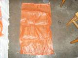 Sacchetto arancione della maglia della frutta del piccolo Drawstring di nylon poco costoso del sacchetto della maglia