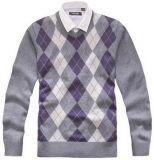 人の長い袖のセーター、プルオーバーのセーター(SFY-J24)