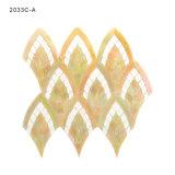 De hoge Tegels van het Mozaïek van het Gebrandschilderd glas van de Ambacht voor de Decoratie van de Muur van de Keuken