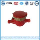 Medidor de água quente de bronze do corpo vermelho do medidor de água Fabricante