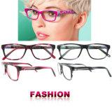 Las lentes hechas a mano venden al por mayor marcos hechos a mano de los vidrios ópticos de la alta calidad