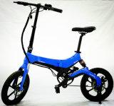 Onebot S6 складной велосипед на улице с 16 дюймов давление в шинах