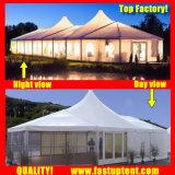 Tenda Mixed della tenda foranea dell'alto picco per Wedding il formato 6X12m in 6m x in 12m 6 da 12 12X6 12m x 6m
