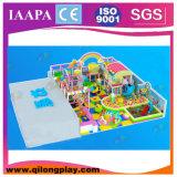 Haute qualité de l'équipement de terrain de jeux, terrain de jeux intérieur (QL-3054C)