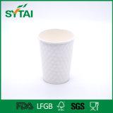 Doppel-wandige Wegwerfpapierkaffeetasse mit Kappen kundenspezifisch anfertigen