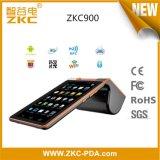 Zkc900 verdoppeln Bildschirm-androide Tablette mit integrierter Scanner Position des Drucker-NFC/RFID