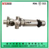 Válvula pneumática inofensiva de aço inox inoxidável Dn50 com corpo de válvula de uma peça