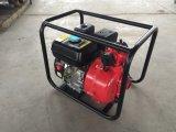 2 pulgadas 5.5HP combustible Gasolina alta presión de la bomba de agua contra incendios para Lavado de coches y Agricultura
