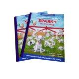 Papel brillante impresión offset Libro de la historia de la Infancia