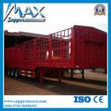 de 3axle los 40FT de cargo a granel del transporte de la puerta lateral de la cerca acoplado semi