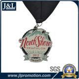 Medalha elevada do metal de Quanlity do cliente com arte -final livre