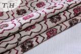Telar jacquar de la tela para las pequeñas flores lindas de los muebles