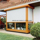Otturatore e portello della finestra di alluminio, rotolanti in su