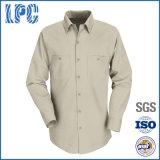 Camisa de trabalho com manga comprida personalizada OEM Men Industrial Uniforms