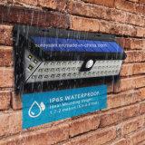 De garantie extérieure imperméable à l'eau légère solaire de 54 lampe de mur Emergency de voie PIR de mouvement de DEL de détecteur de la lumière DEL de jardin modes de la lumière 3
