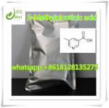 Pó ácido químico cru CAS 3222-49-9 do material 5-Methylnicotinic de 98%