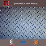 Placa Checkered del material de construcción A36 con el Mtc