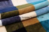Franela impresa del poliester/tela coralina del paño grueso y suave - 16408-10 1#