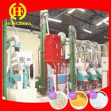 Sell em Zimbabwe 30t por máquinas da fábrica de moagem do milho 24h