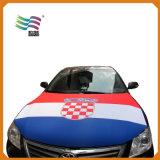 車のフラグのフードカバー(Hych-Af003)のために旗を広告するカスタム印刷