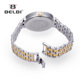 Belbi 형식 호화스러운 다이아몬드 우연한 시계 방수 합금 석영 시계