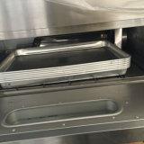 Four de paquet de gaz de trois compartiments pour le traitement au four de pain
