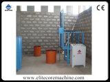 Maquinaria manual da mistura para o grupo produzindo a espuma da esponja do poliuretano