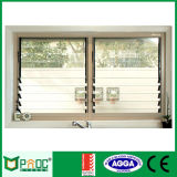 Aluminiumluftschlitz Windows mit australischer StandardPnoc Fabrik