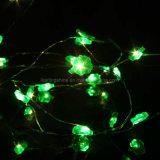 Batterie LED Operated Xmas Four Leaf Trèfles Chaîne Fée Party Lights Decoartions