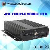H. 264 número de canaleta audio do telefone móvel Four-Channel tempo real do carro DVR SD carro tempo real DVR móvel da gravação 128g de $ + do número 1d1 CIF de $