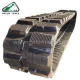 450*71*80 máquinas de construção rasto de borracha da escavadeira