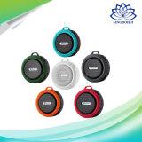 옥외 원형 Ipx5는 Bluetooth 휴대용 소형 스피커를 방수 처리한다