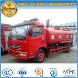 8000 L 4X2 화재 물 텐더 트럭 유조 트럭 8 톤 물