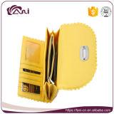 Типа застежки -молнии Fani бумажник монетки женщин PU оптового кожаный
