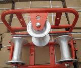 160*165 Câble de ligne droite, roue de la poulie du rouleau de câble en acier