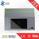 Scherpe Machine van de Laser van Co2 van de Stof van het Leer van Jsx9060 80W de Acryl