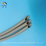 Tube de rétrécissement de la chaleur en caoutchouc de silicones de résistance de flamme pour la protection de câble