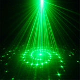 Luz laser de la Solo-Pista verde de 8000MW DMX