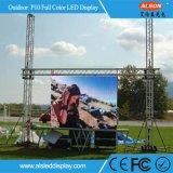 Cheap&Buena piscina P10 Alquiler de vídeo LED pantalla de pared