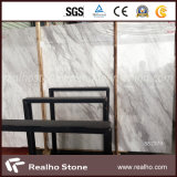 Laje de mármore branca de Italy Volakas da primeira qualidade para materiais de construção comerciais