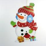 Decoración pendiente del día de fiesta de las etiquetas engomadas de la Navidad (JG671)