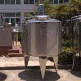Fornecedor Jacketed de mistura inoxidável do tanque do tanque do vapor do tanque do tanque de aço