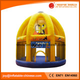 Pato Amarillo Popular Gorila inflable castillo saltar Moonwalk (T1-631)